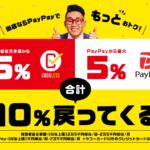 還元率改悪 10%還元となるPayPayのキャンペーン「まちかどペイペイ」とは