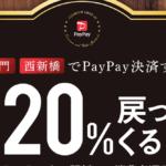 PayPay11月のキャンペーンは【虎の門·西新橋で最大20%還元】第2弾「勝手におっ得区キャンペーン」