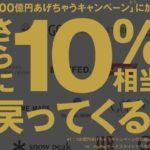 最大31%還元!ZOZOTOWN(ゾゾタウン)PayPayモール店キャンペーン開催