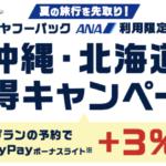 「yahoo!トラベル」3%のPayPay(ペイペイ)ボーナスライト付与のキャンペーン開催